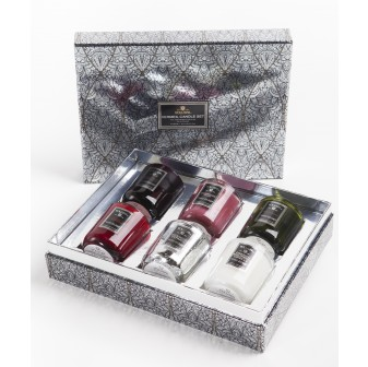 Candle Connoisseur - Voluspa Vermeil Gift Set