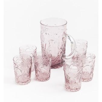 Les Pichets - Verona Glasses and Pitcher Set