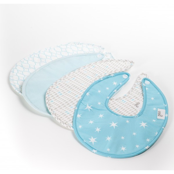 Goo Bib Set - Blue
