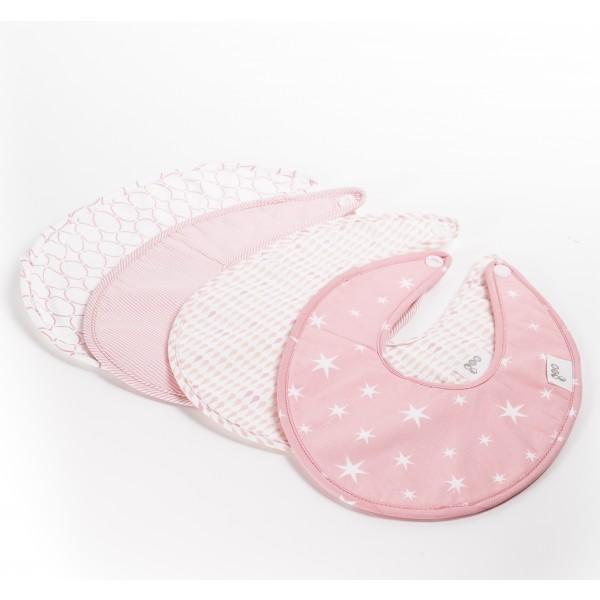 Goo Bib Set - Pink