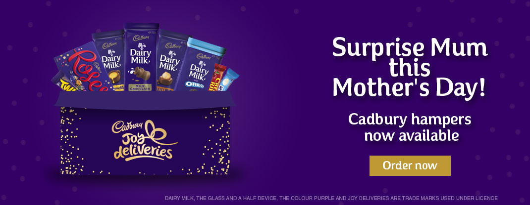 Cadbury Joy Deliveries - Mother's Day